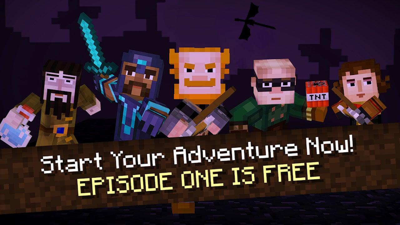 Minecraft Story Mode screen 3