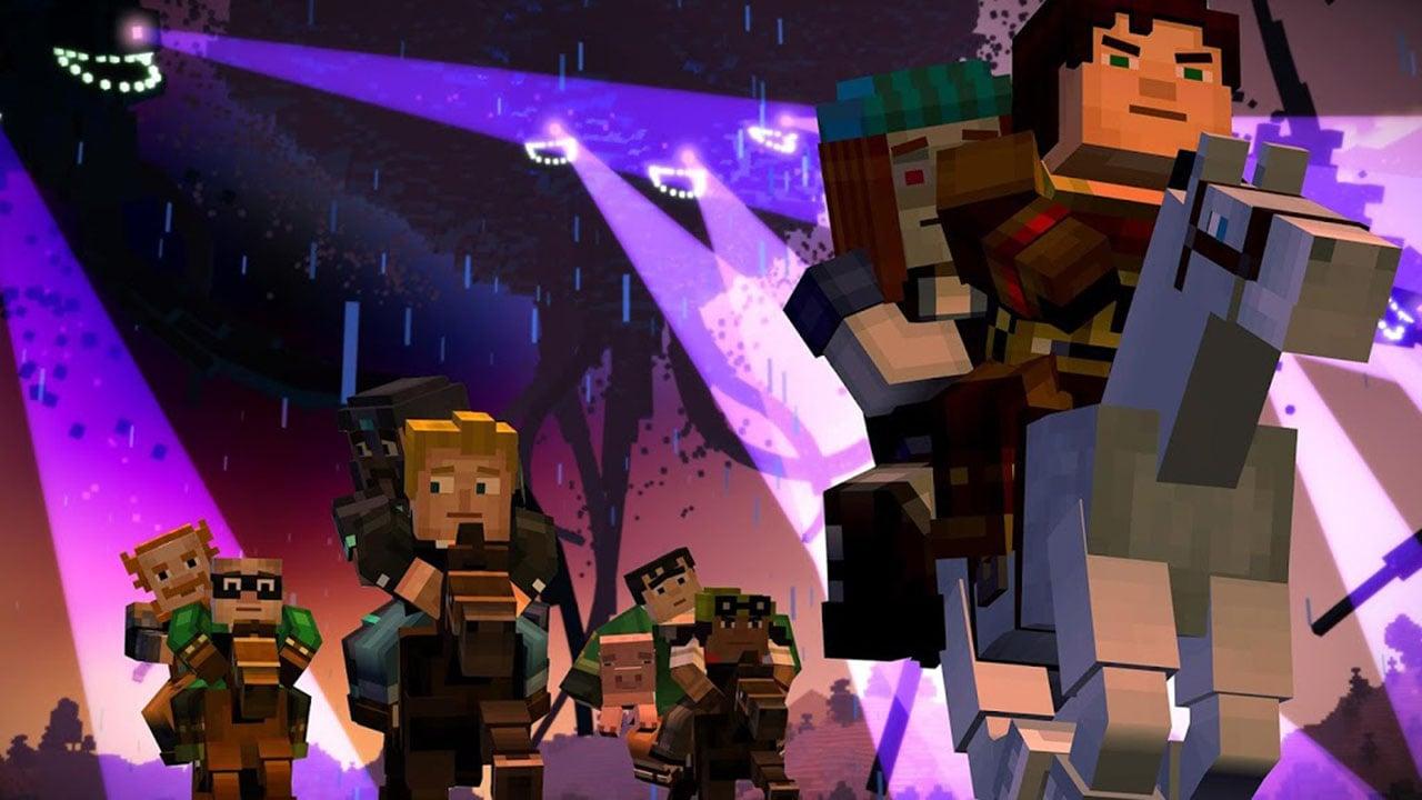 Minecraft Story Mode screen 4