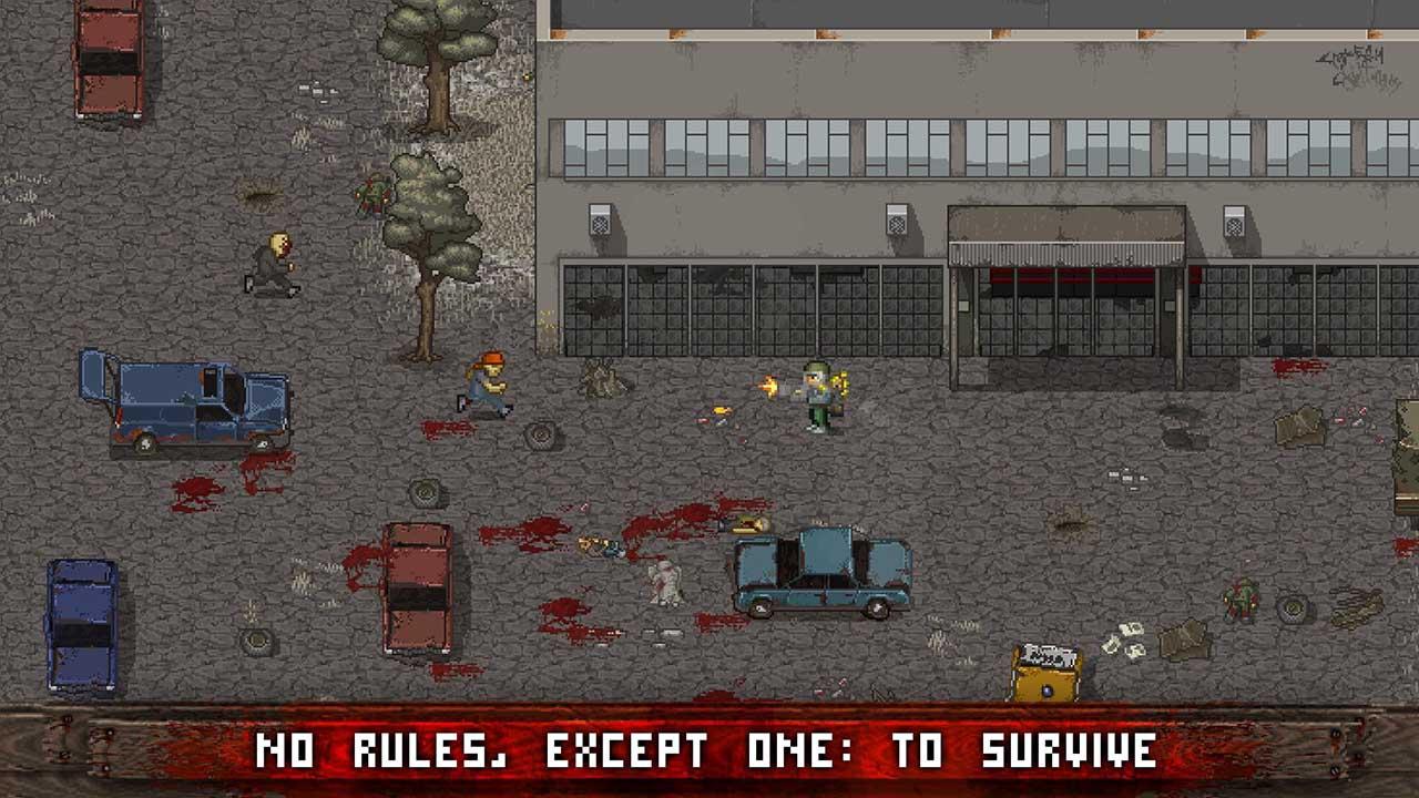 Mini DAYZ Zombie Survival screen 0