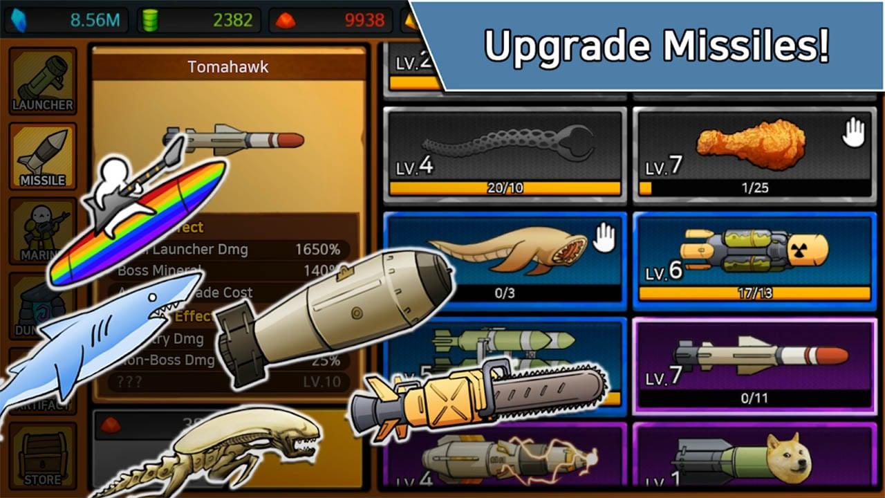 Missile Dude RPG screen 4