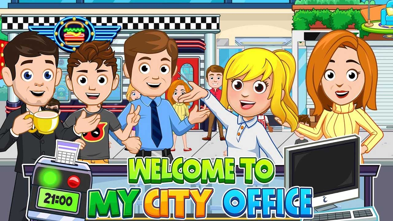 My City Office poster
