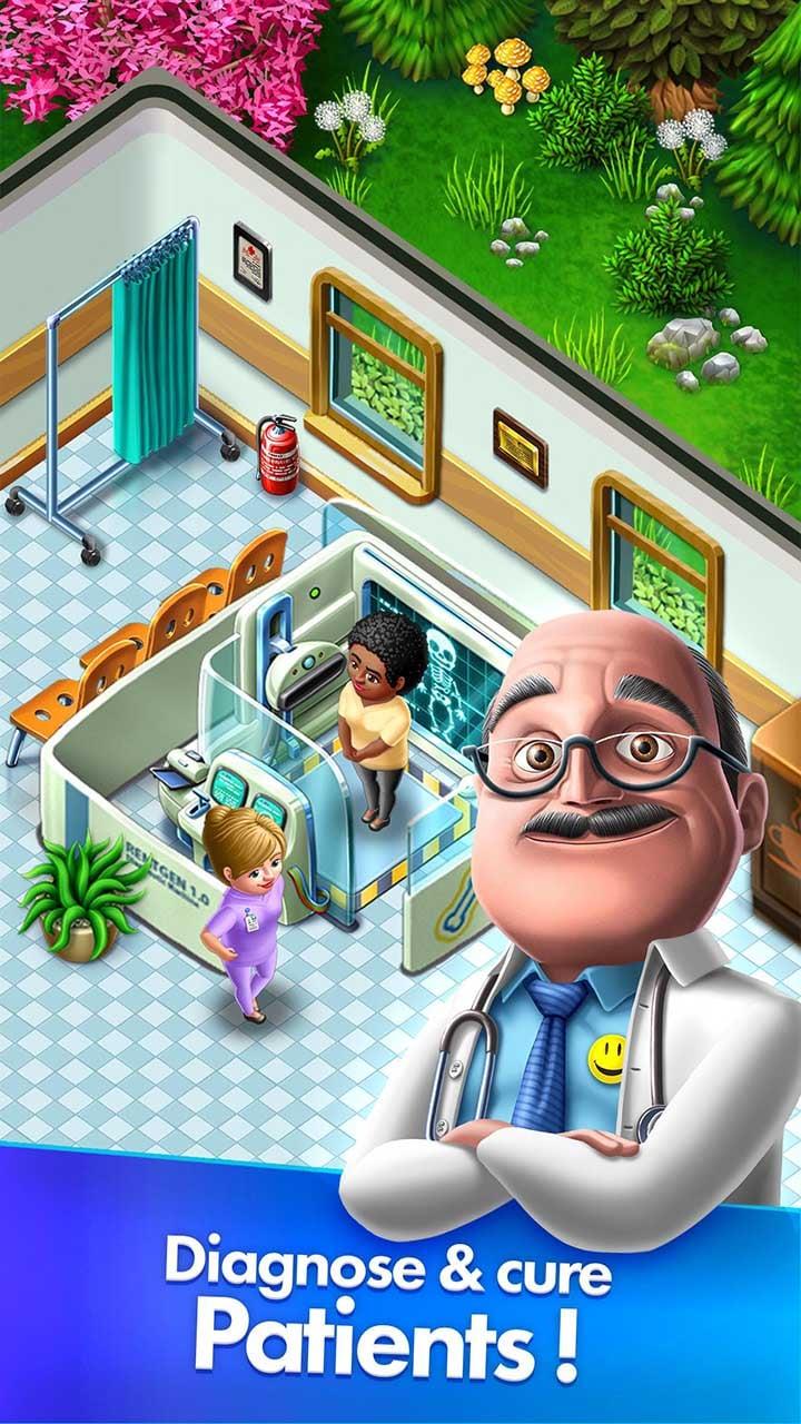 My Hospital screen 1