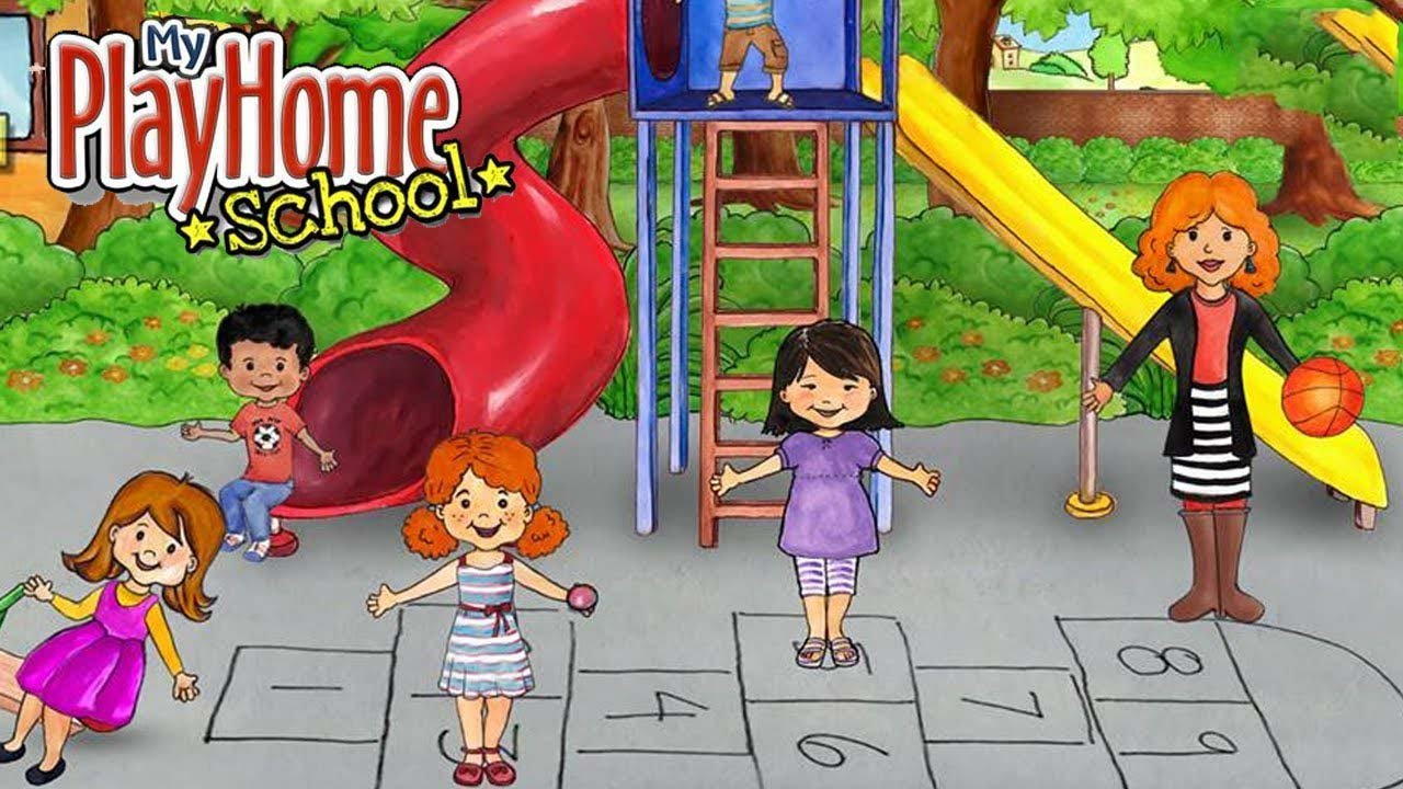 My PlayHome School poster