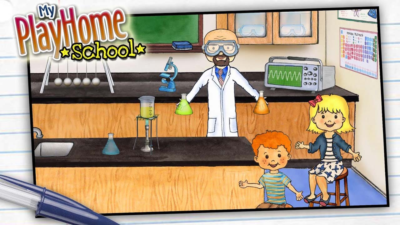 My PlayHome School screen 1