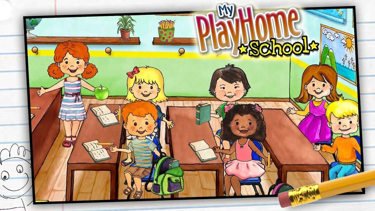 My PlayHome School screen 2