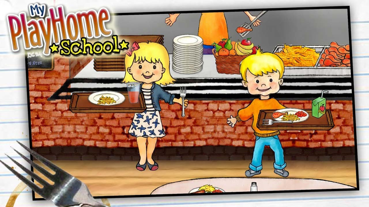 My PlayHome School screen 3