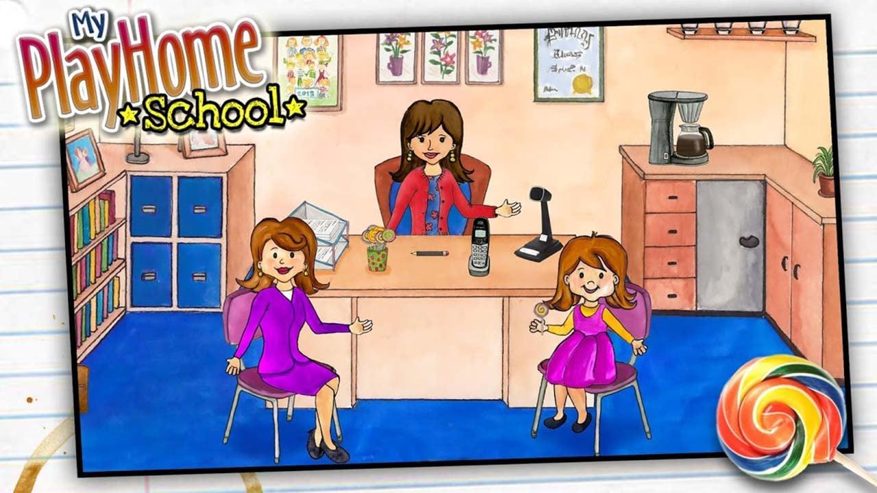 My PlayHome School screen 4