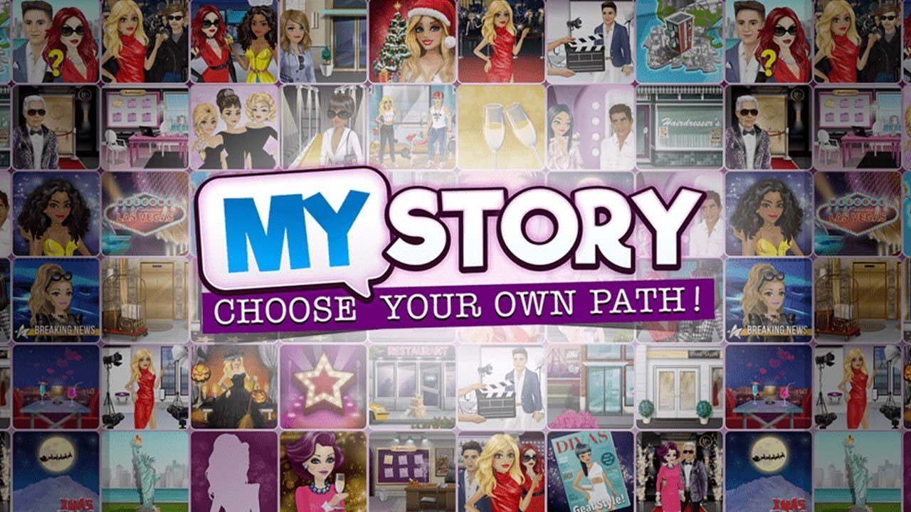 My Story Choose Your Own Path poster