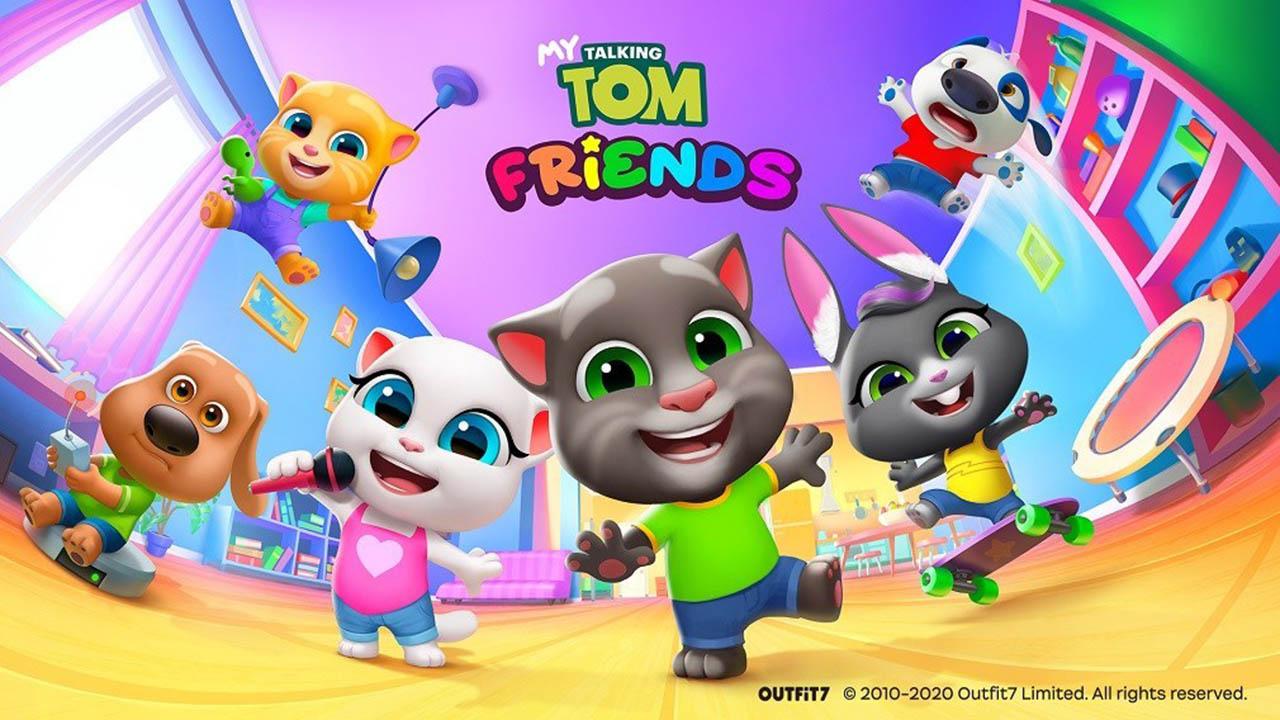 My Talking Tom Friends poster