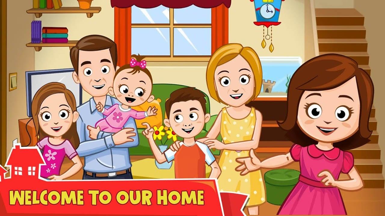 My Town Home DollHouse screen 1