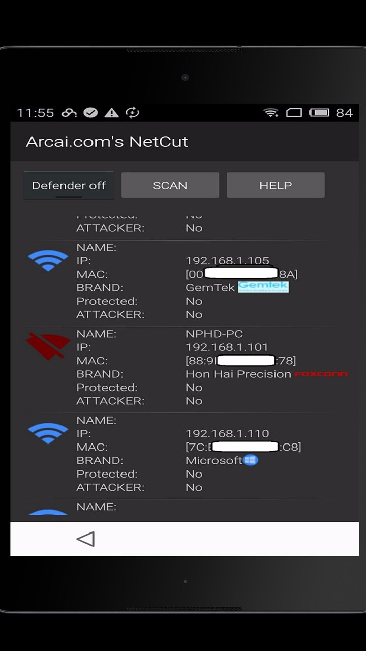 NetCut screen 3
