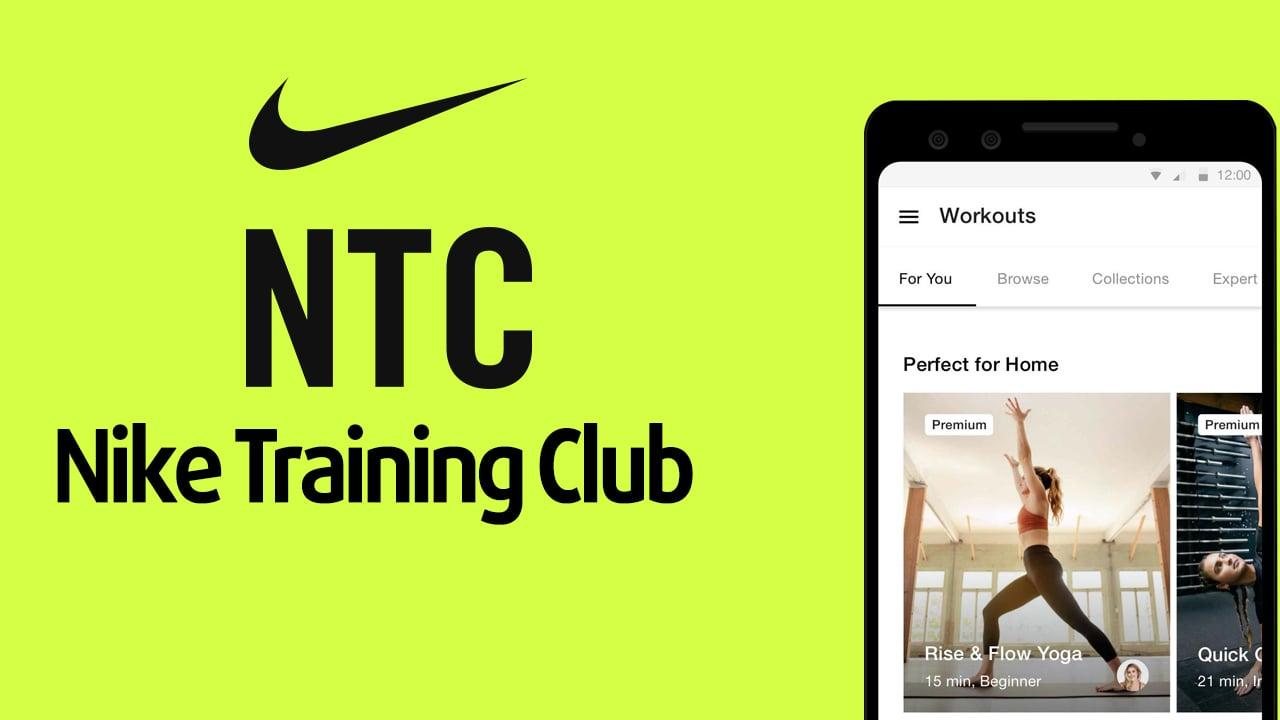 Nike Training Club poster