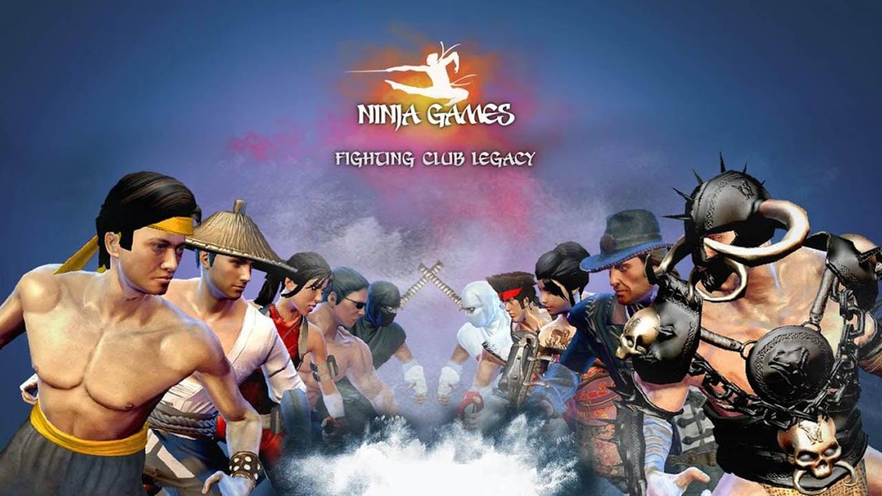 Ninja Games Fighting Club Legacy poster