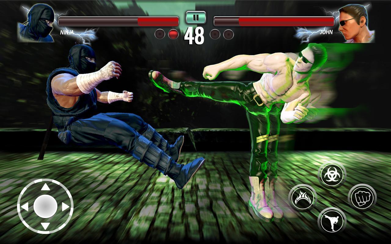 Ninja Games Fighting Club Legacy screen 1