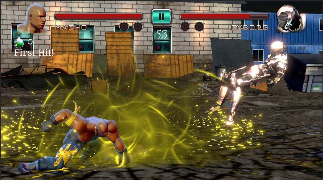 Ninja Games Fighting Club Legacy screen 3
