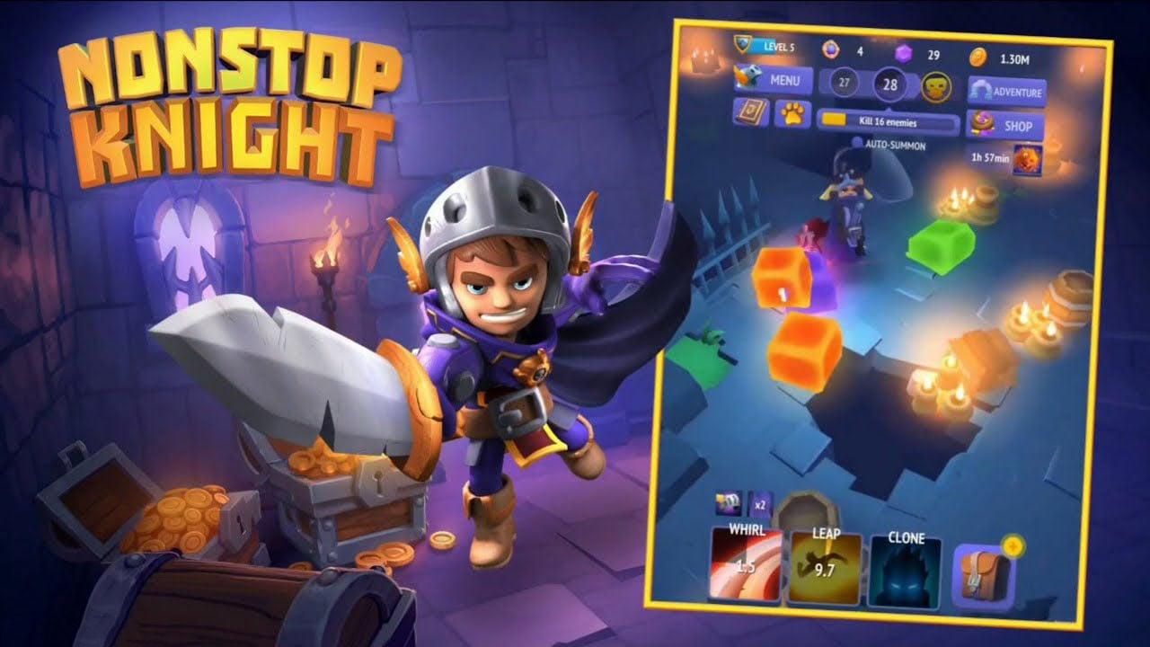 Nonstop Knight poster
