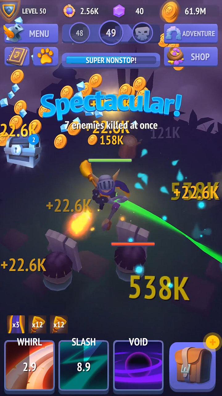 Nonstop Knight screen 5