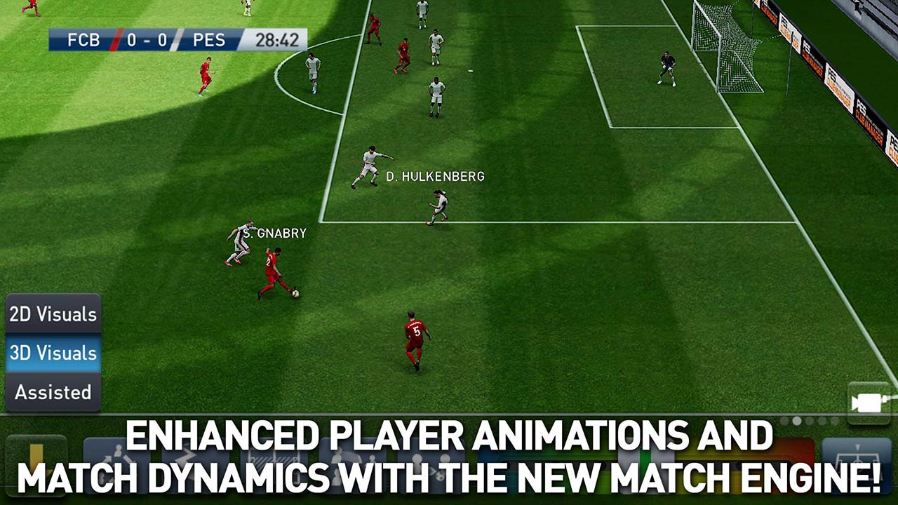 PES CLUB MANAGER screen 2