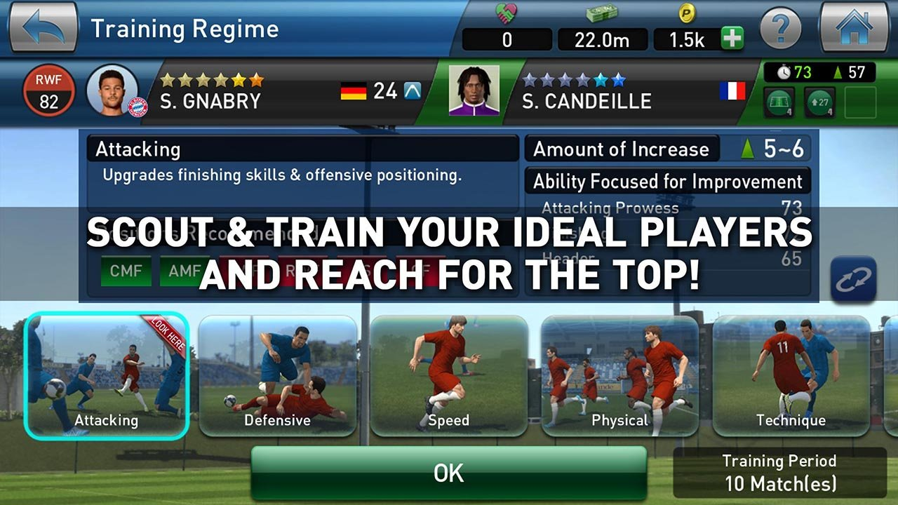 PES CLUB MANAGER screen 4