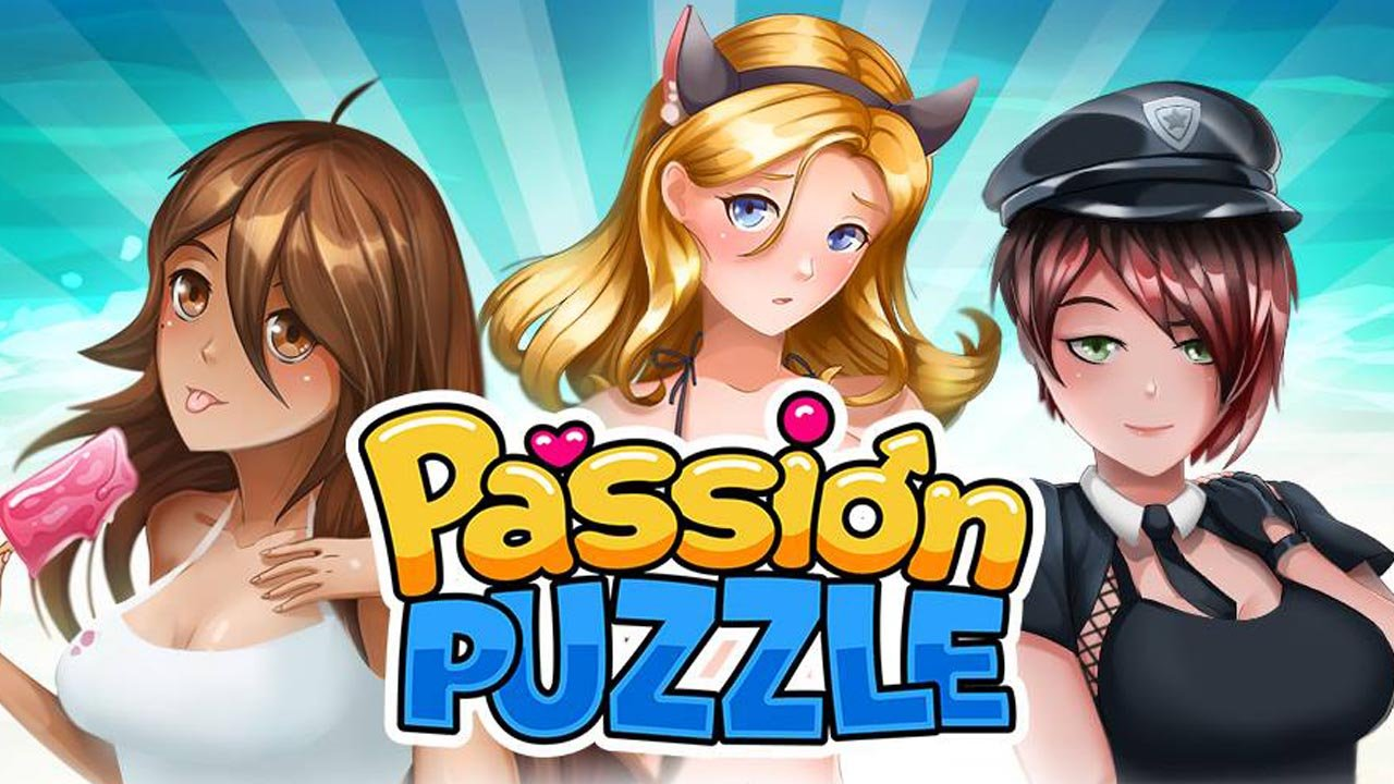 Passion Puzzle Dating Simulator poster