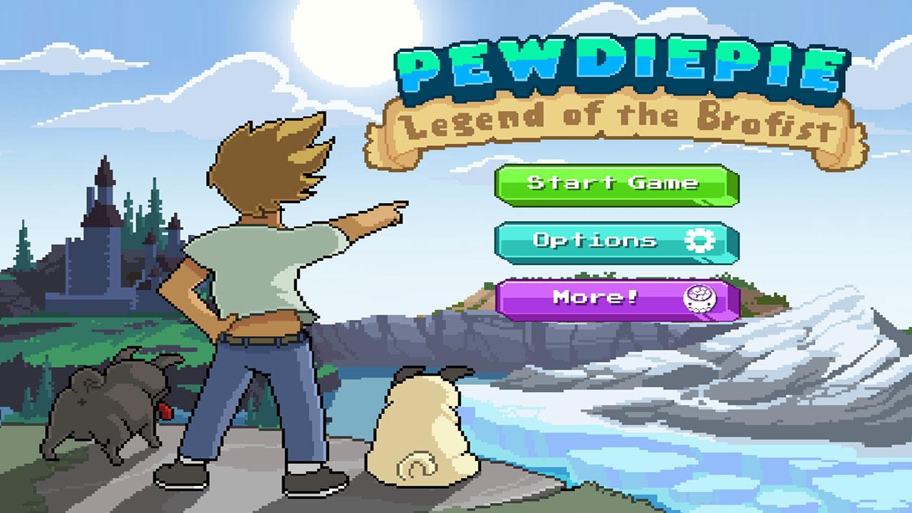 PewDiePie Legend of Brofist poster