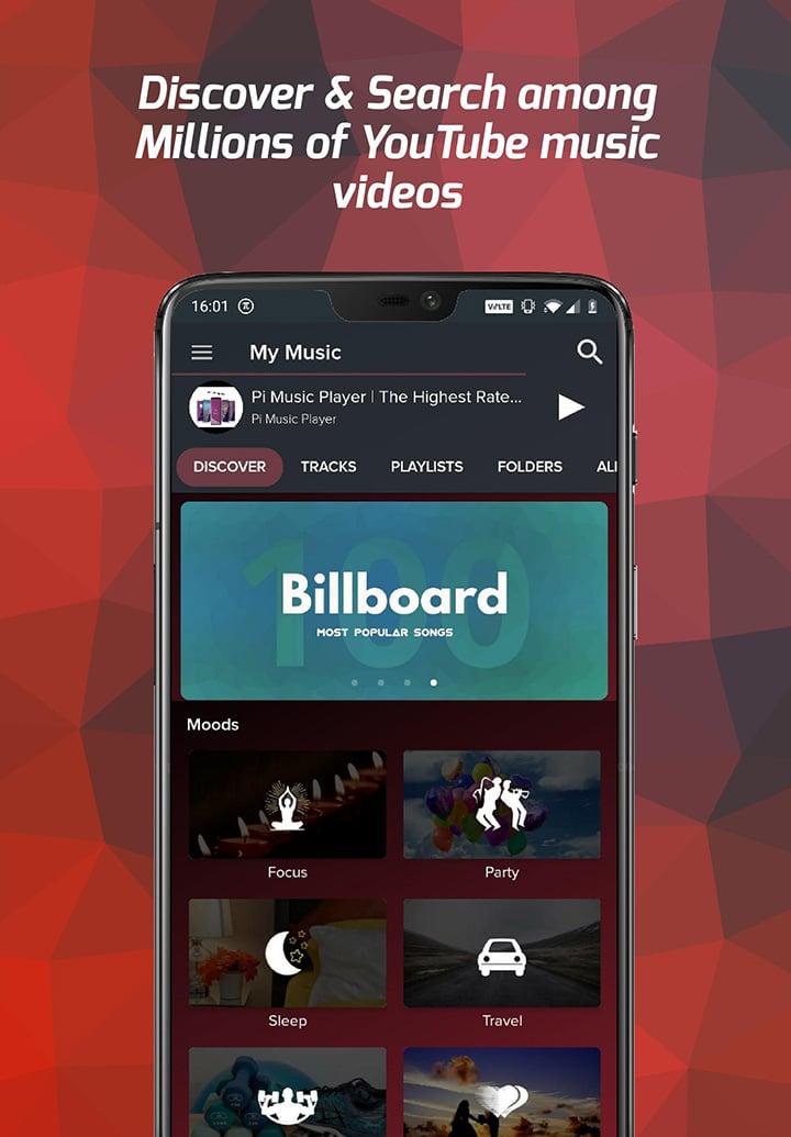 Pi Music Player screen 0