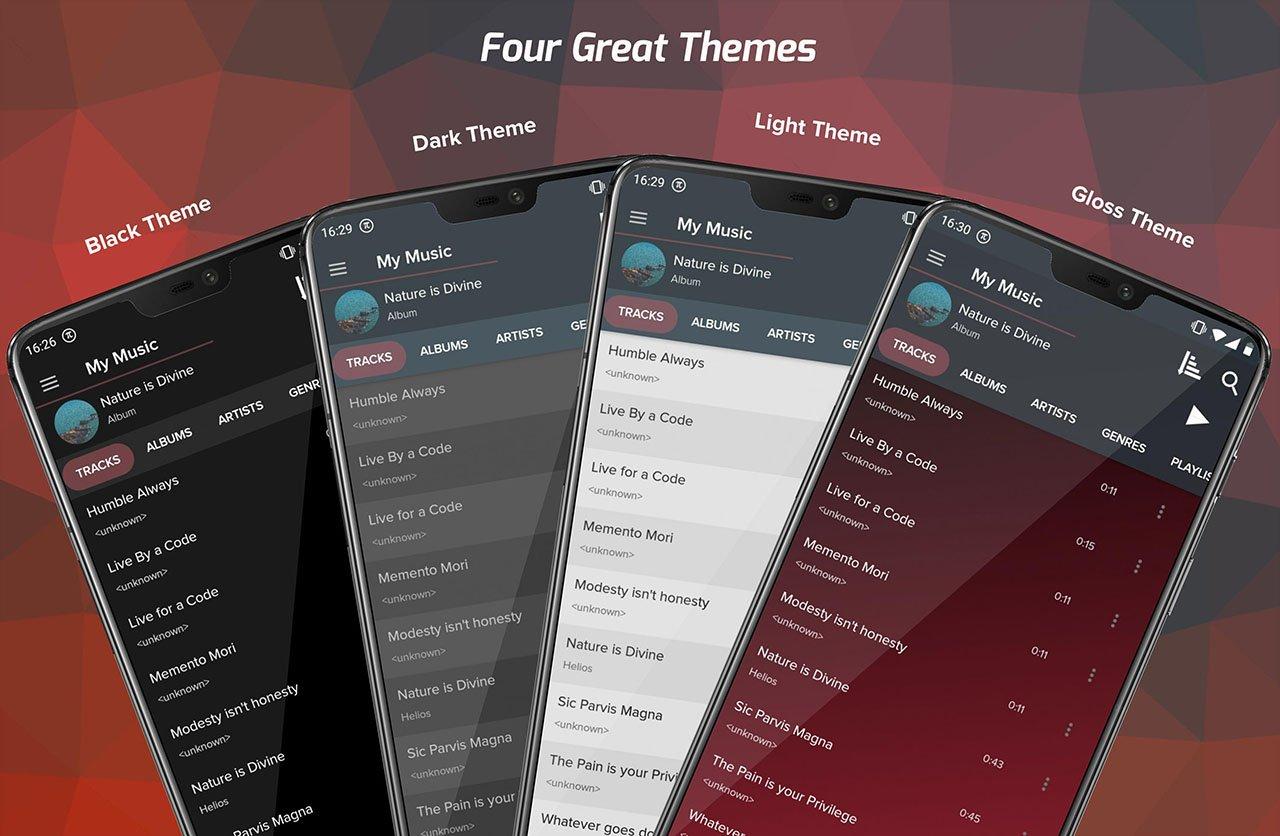 Pi Music Player screen 4