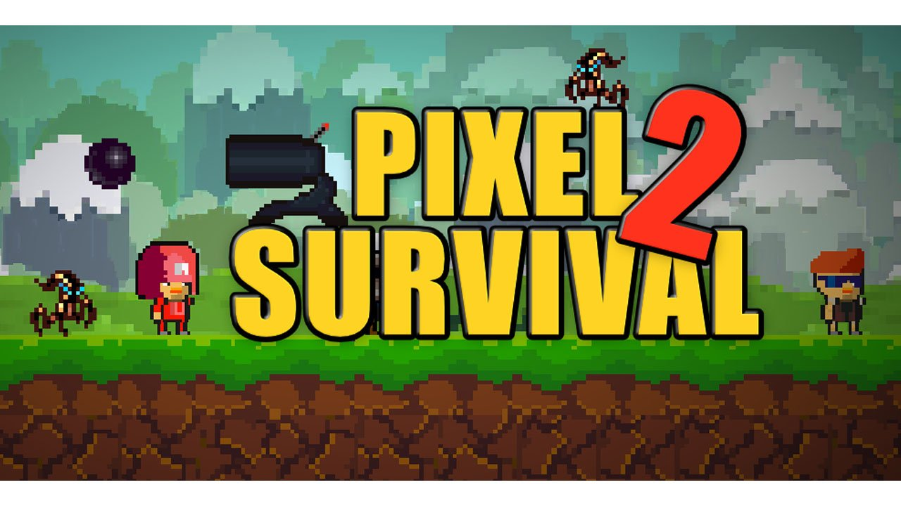 Pixel Survival Game Poster 2