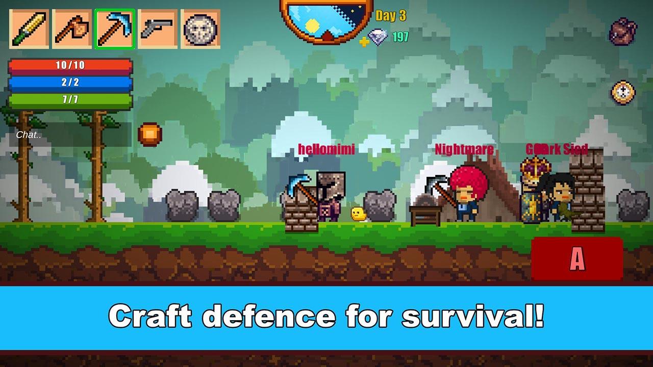 Pixel Survival Game Screen 2 0