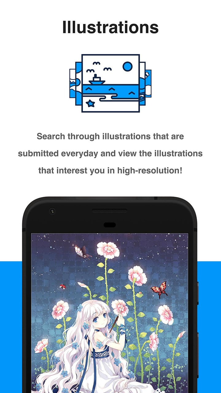 Pixiv screen 1