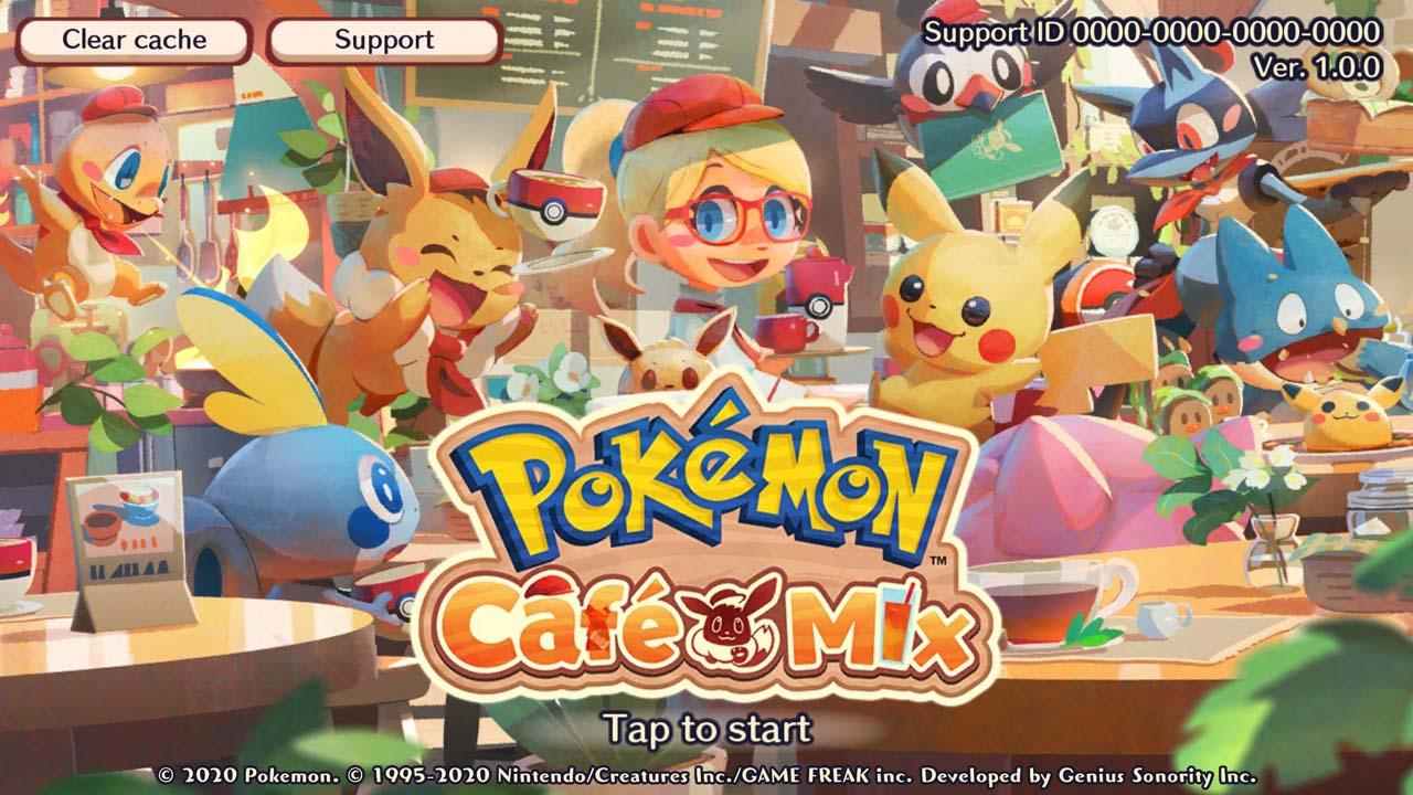 Pokémon Café Mix poster