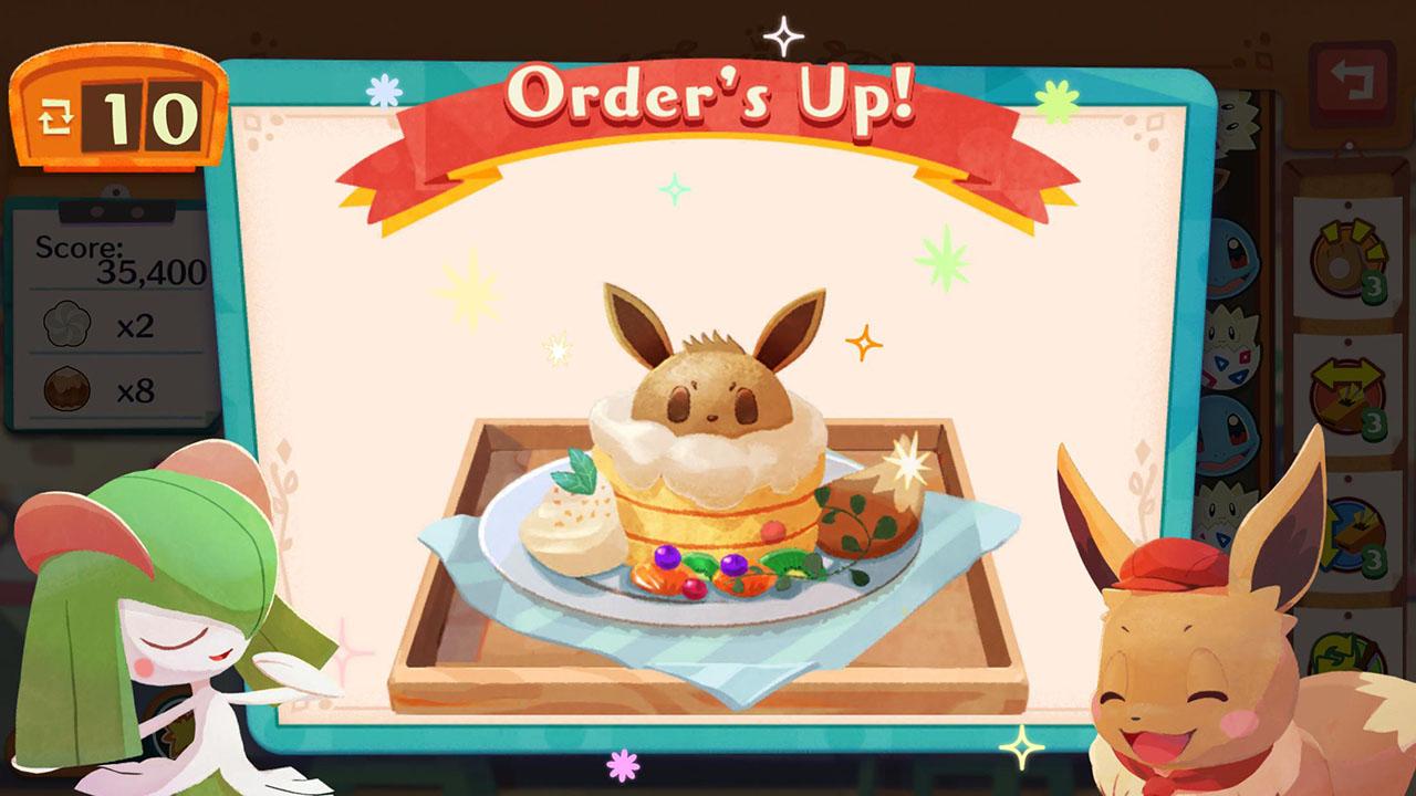Pokémon Café Mix screen 4