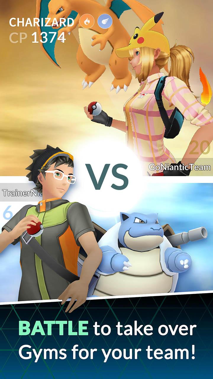 Pokémon GO screen 3