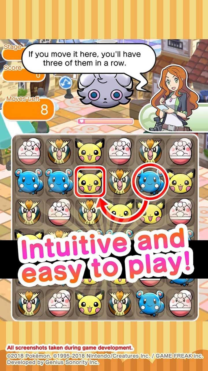 Pokémon Shuffle Mobile screen 2