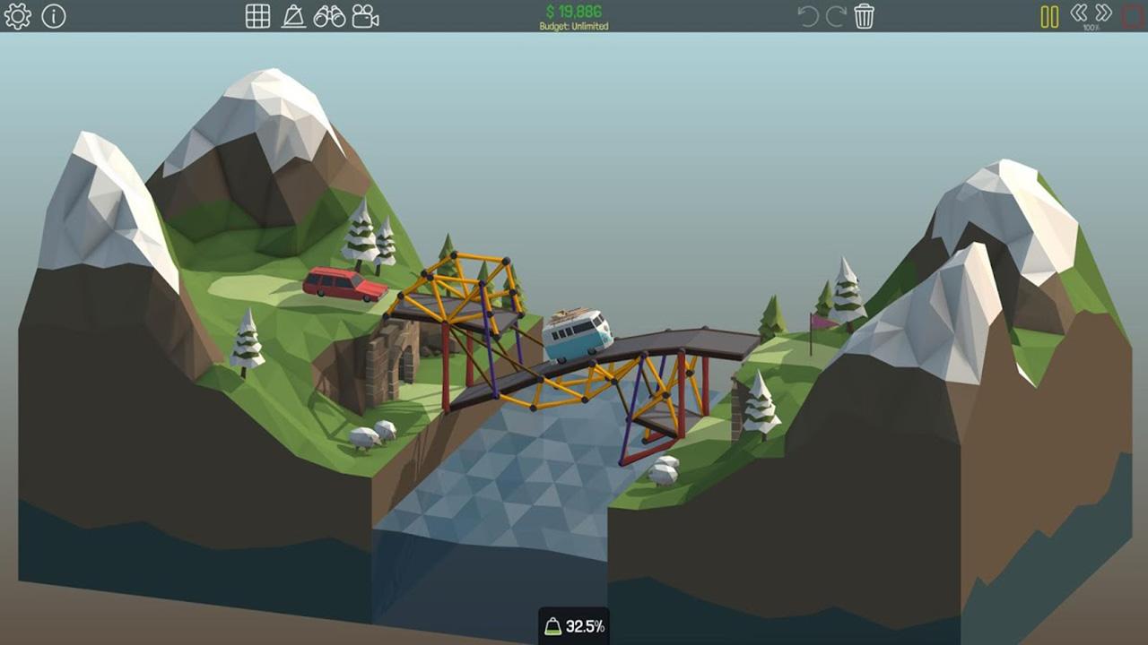Poly Bridge screen 3