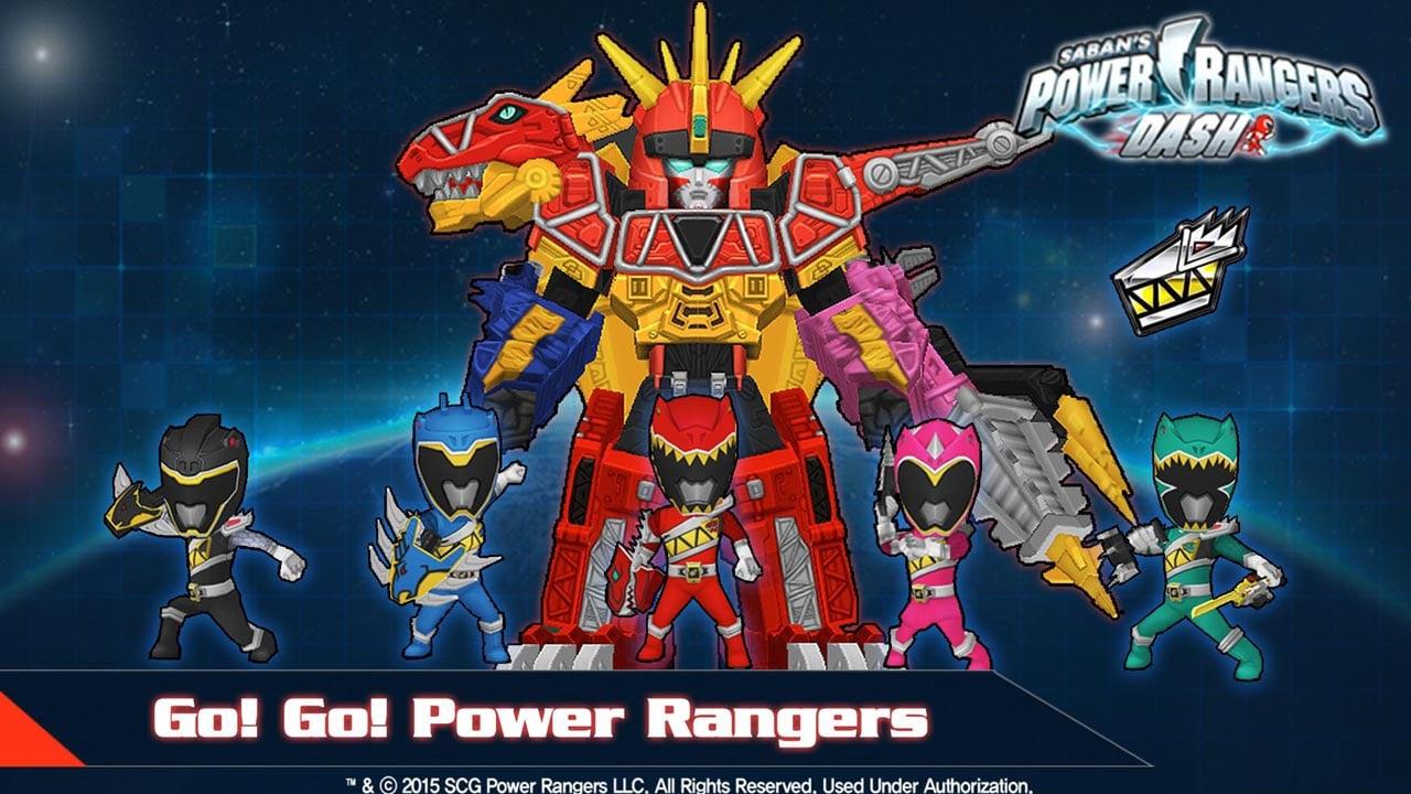 Power Rangers Dash poster