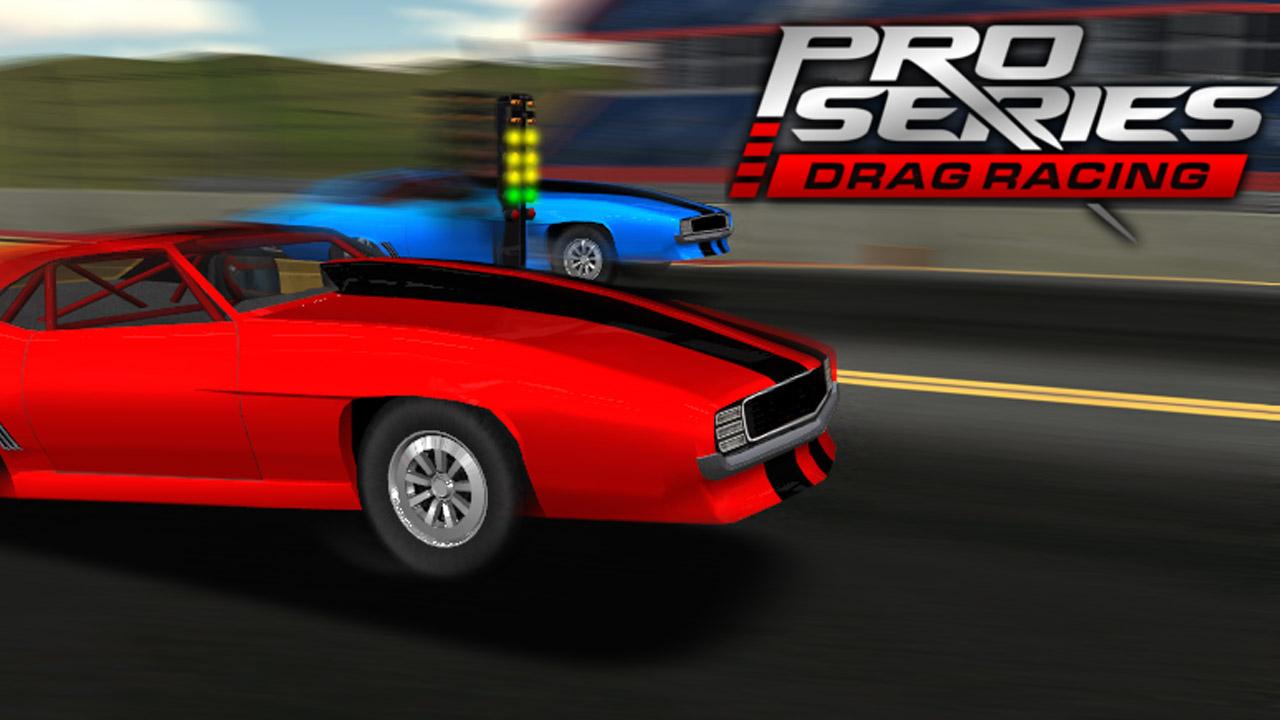 Pro Series Drag Racing poster