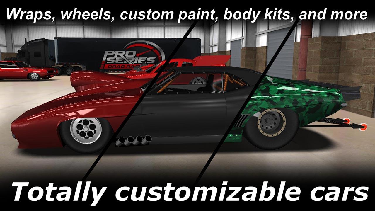Pro Series Drag Racing screen 0