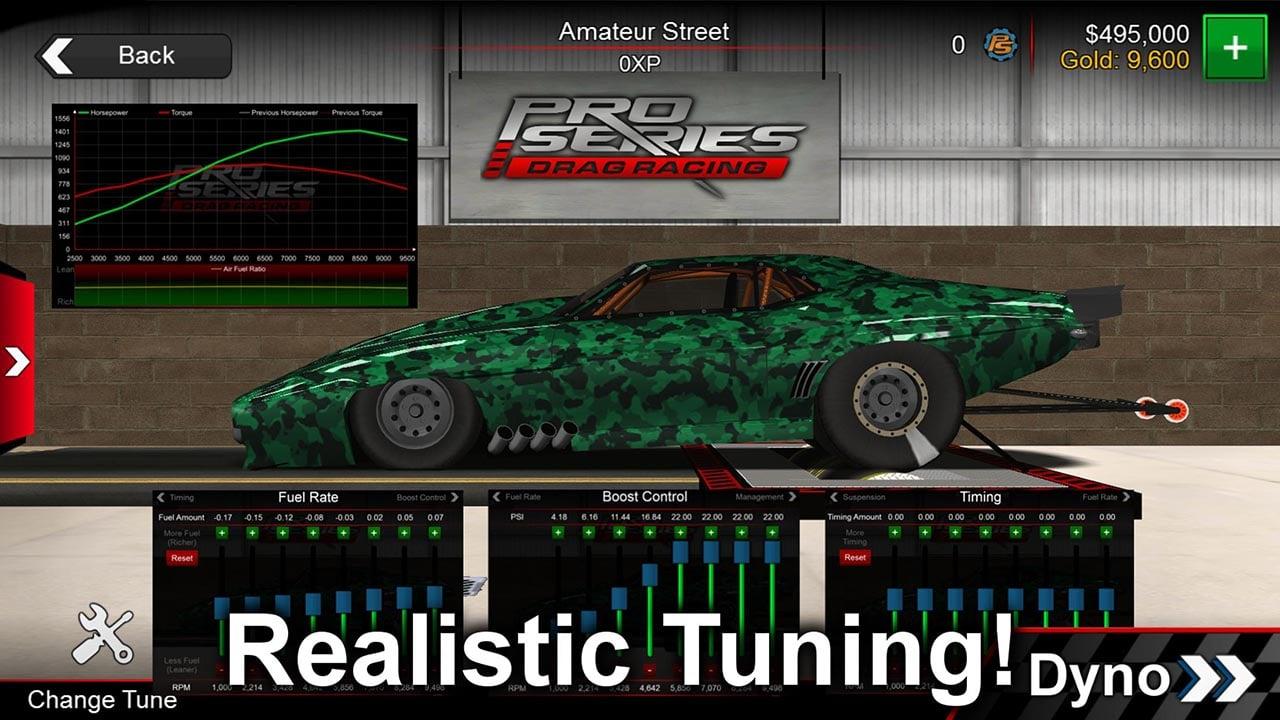 Pro Series Drag Racing screen 3