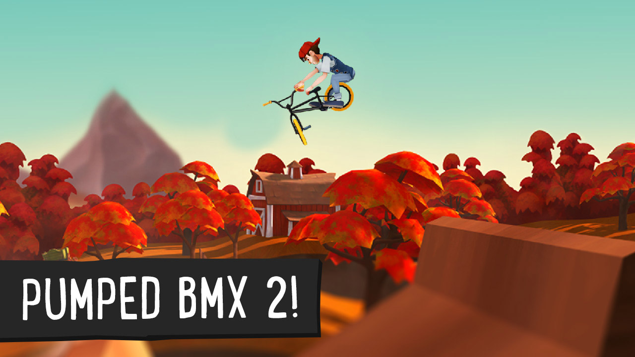 Pumped BMX 2 poster