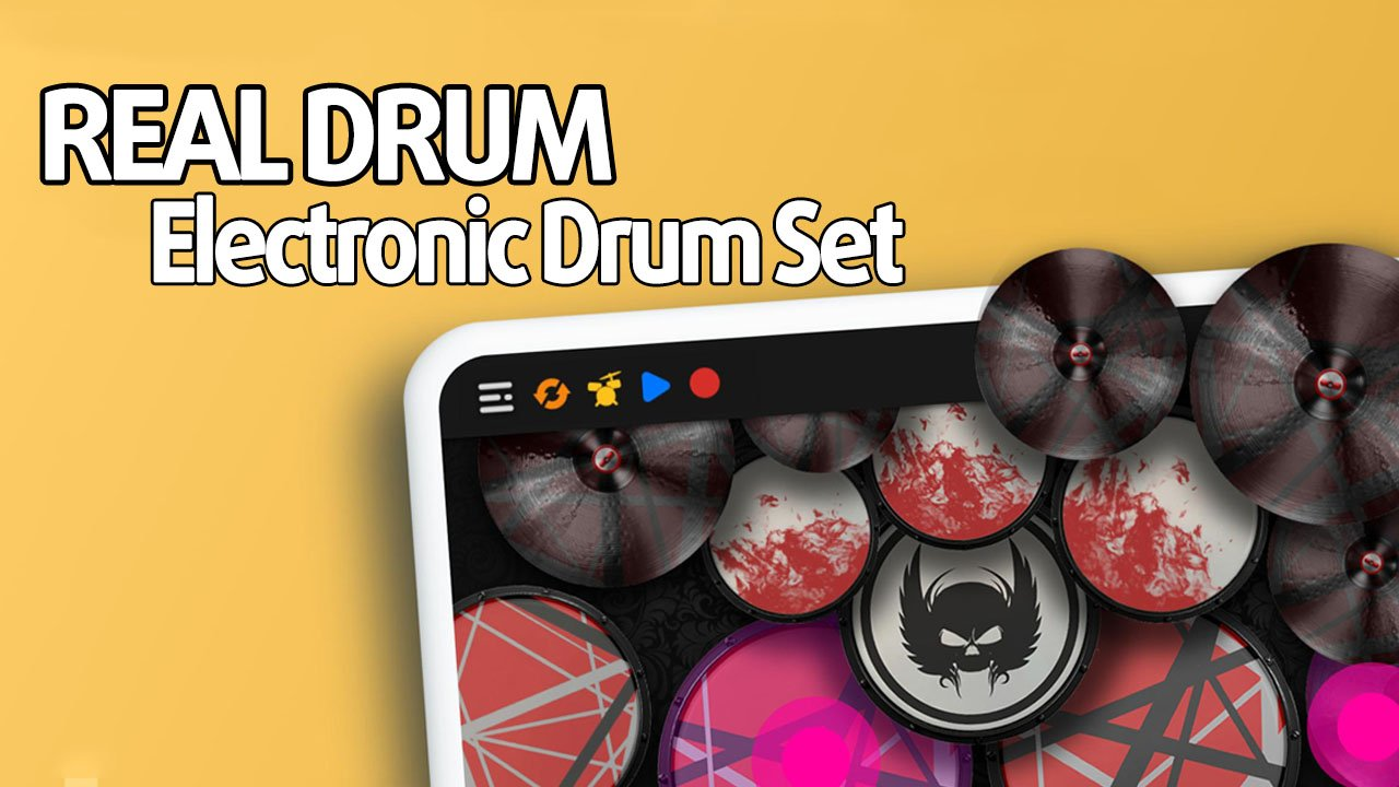 REAL DRUM Electronic Drum Set poster