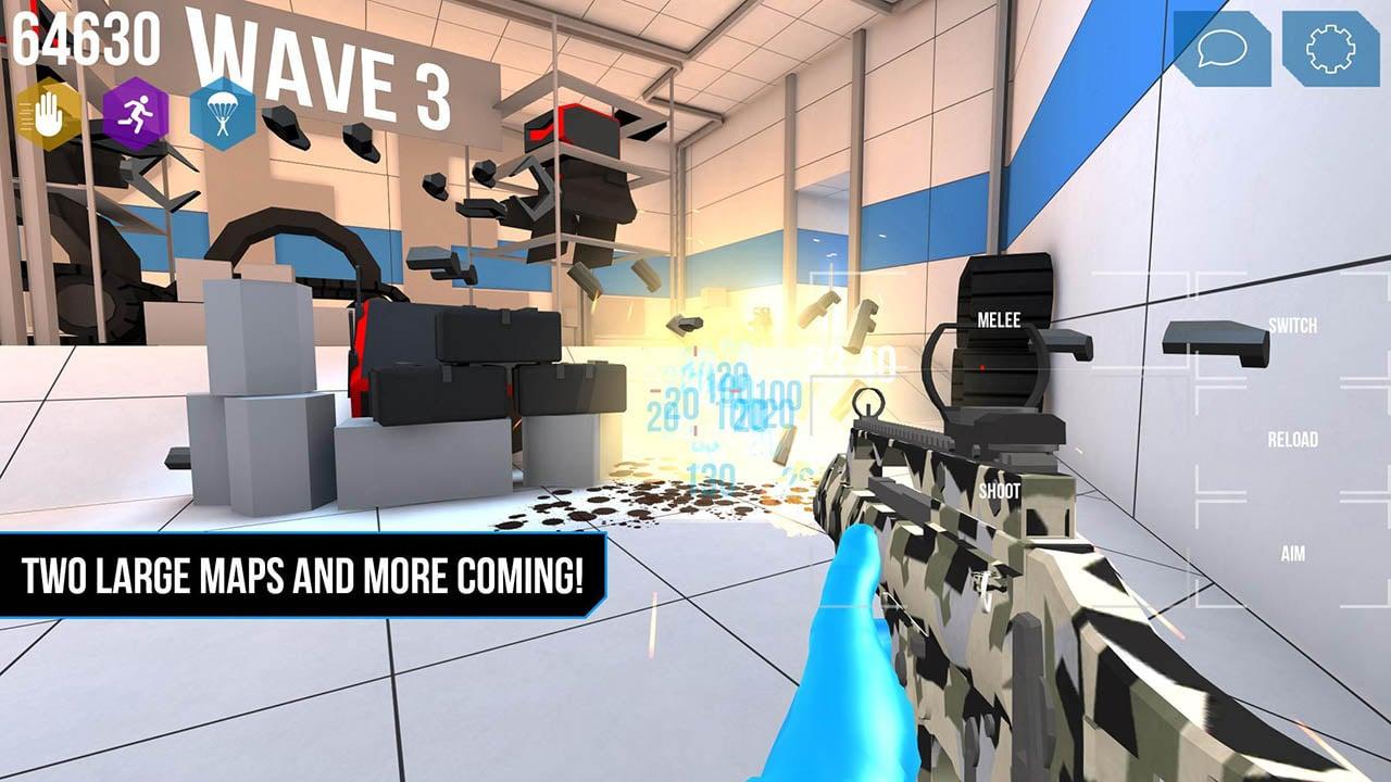 ROBOTS COOP screen 2