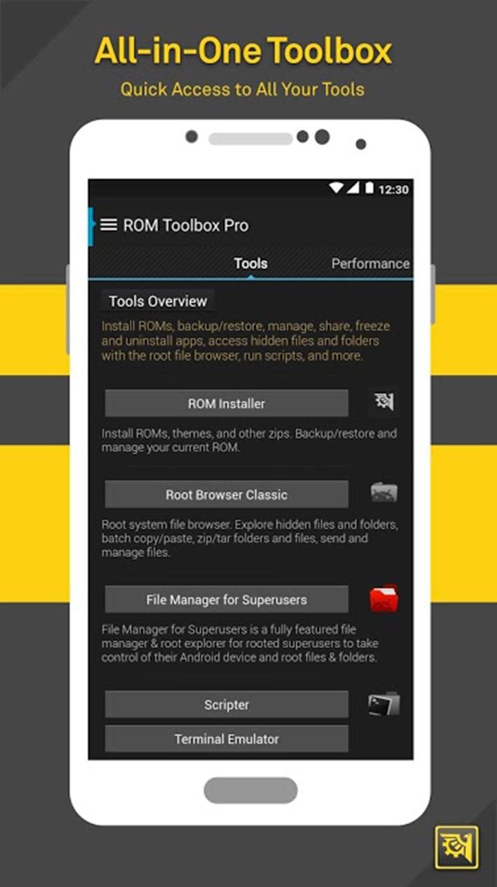 ROM Toolbox Pro screen 6