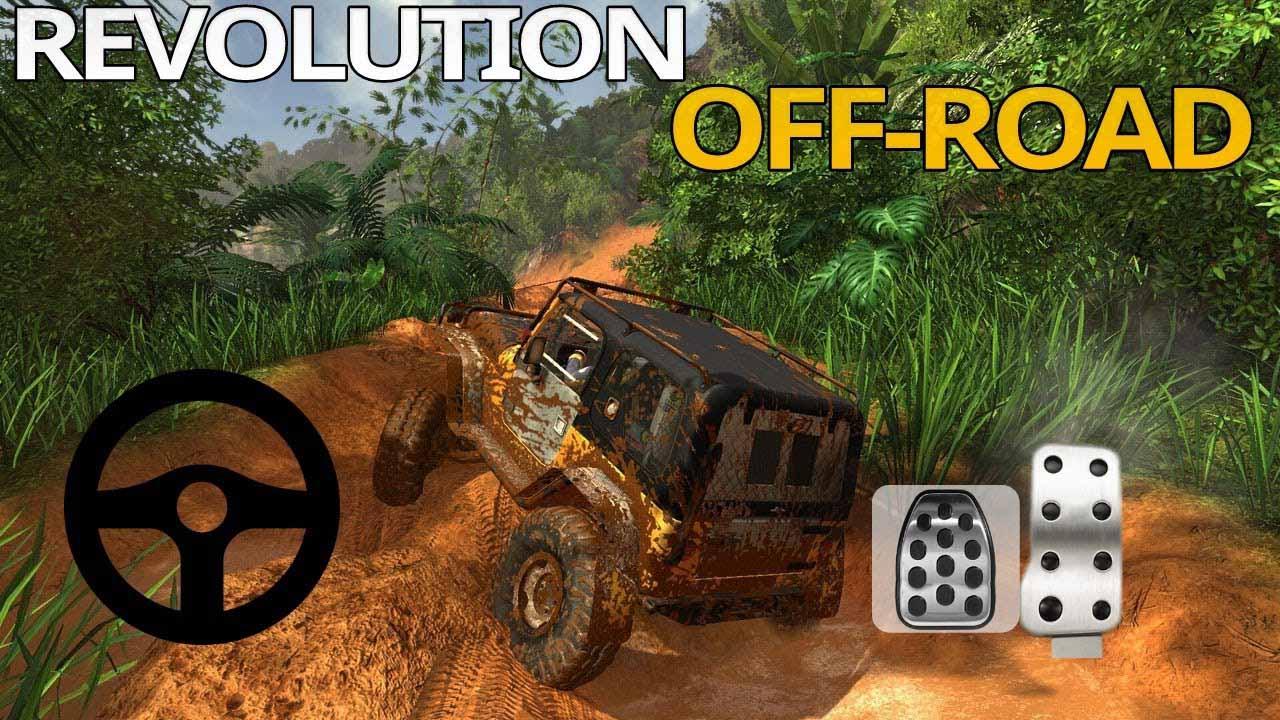Revolution Offroad Spin Simulation poster