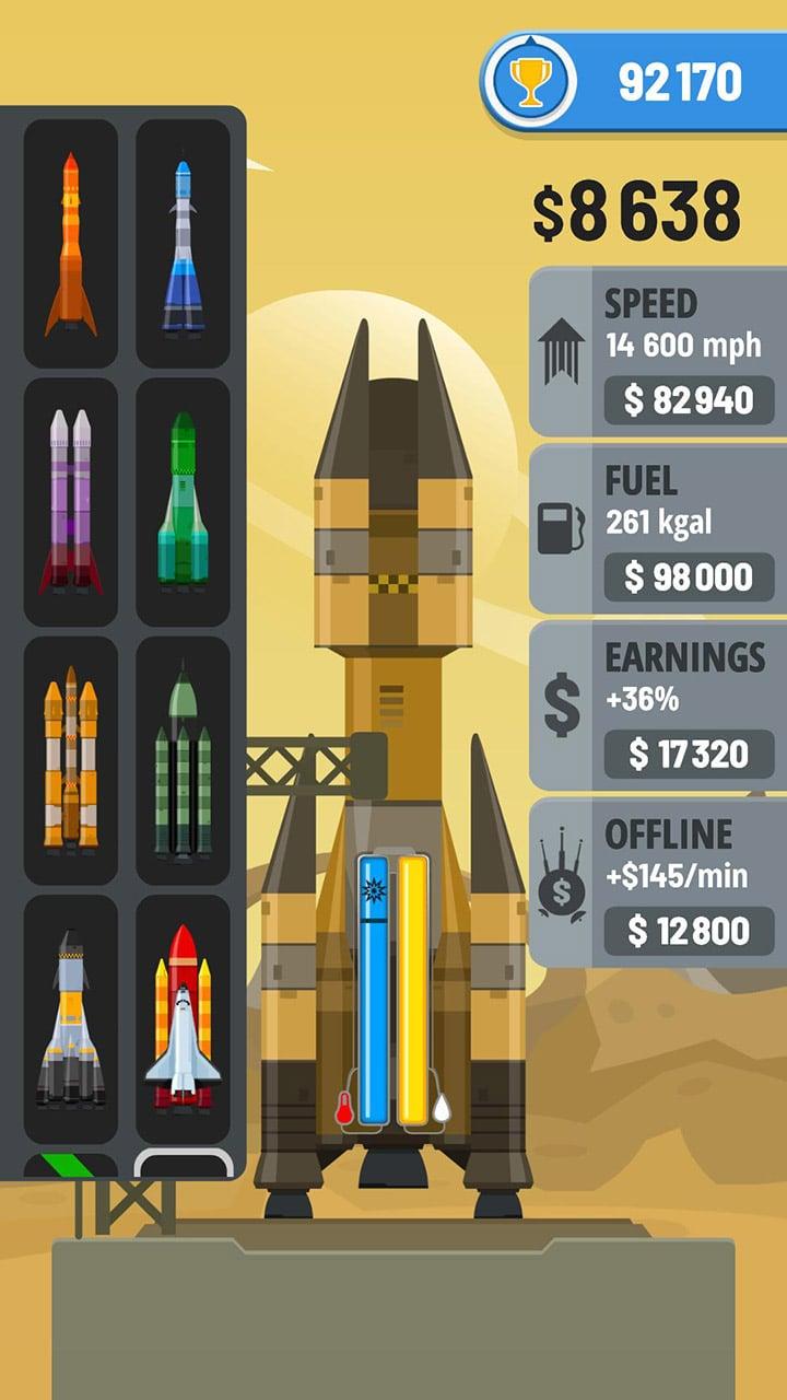 Rocket Sky screen 1