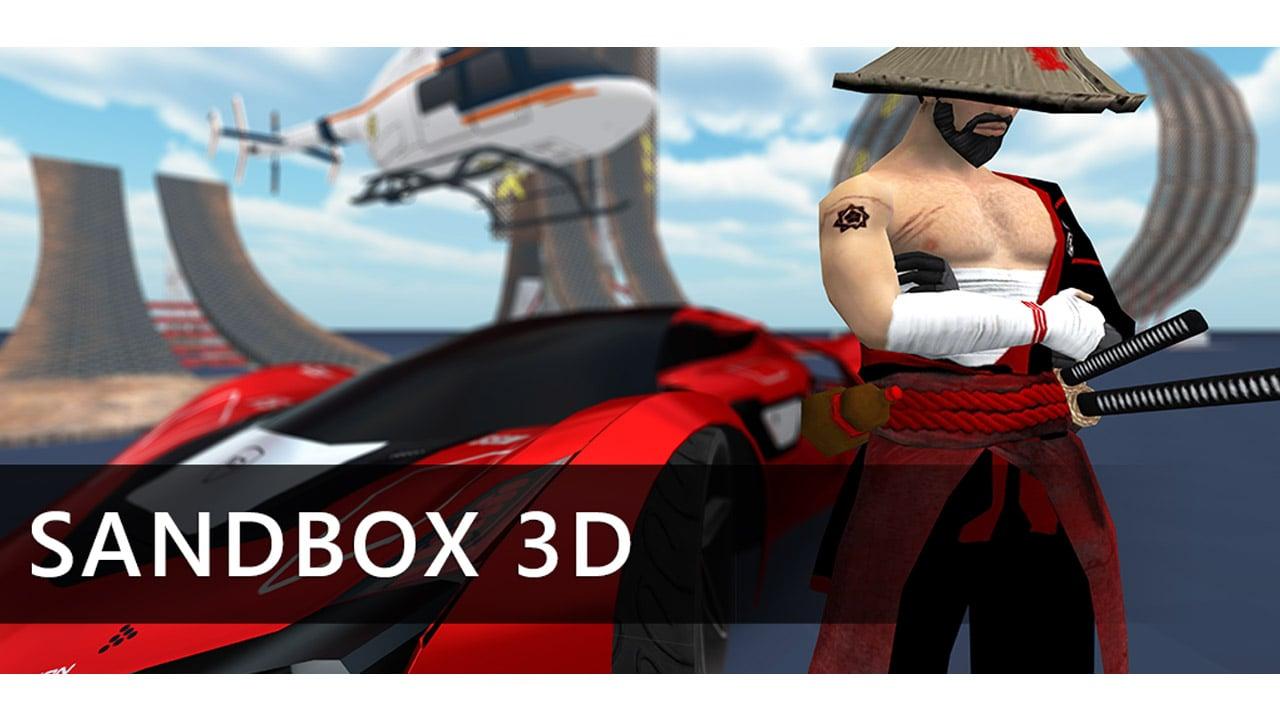 Sandbox 3D poster