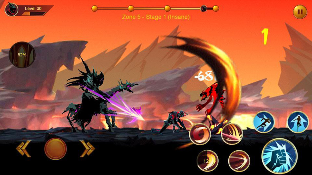 Shadow fighter 2 screen 0