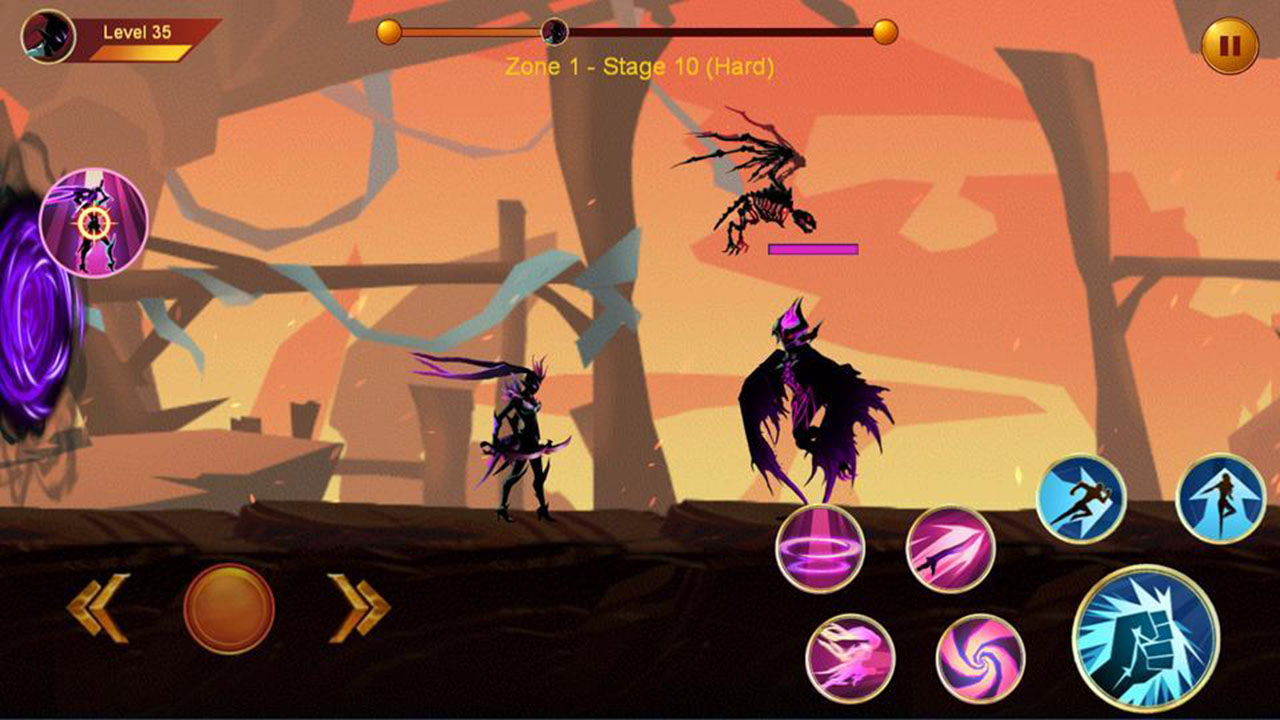 Shadow fighter 2 screen 1
