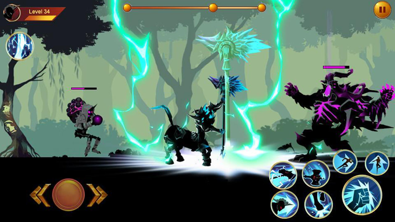 Shadow fighter 2 screen 2
