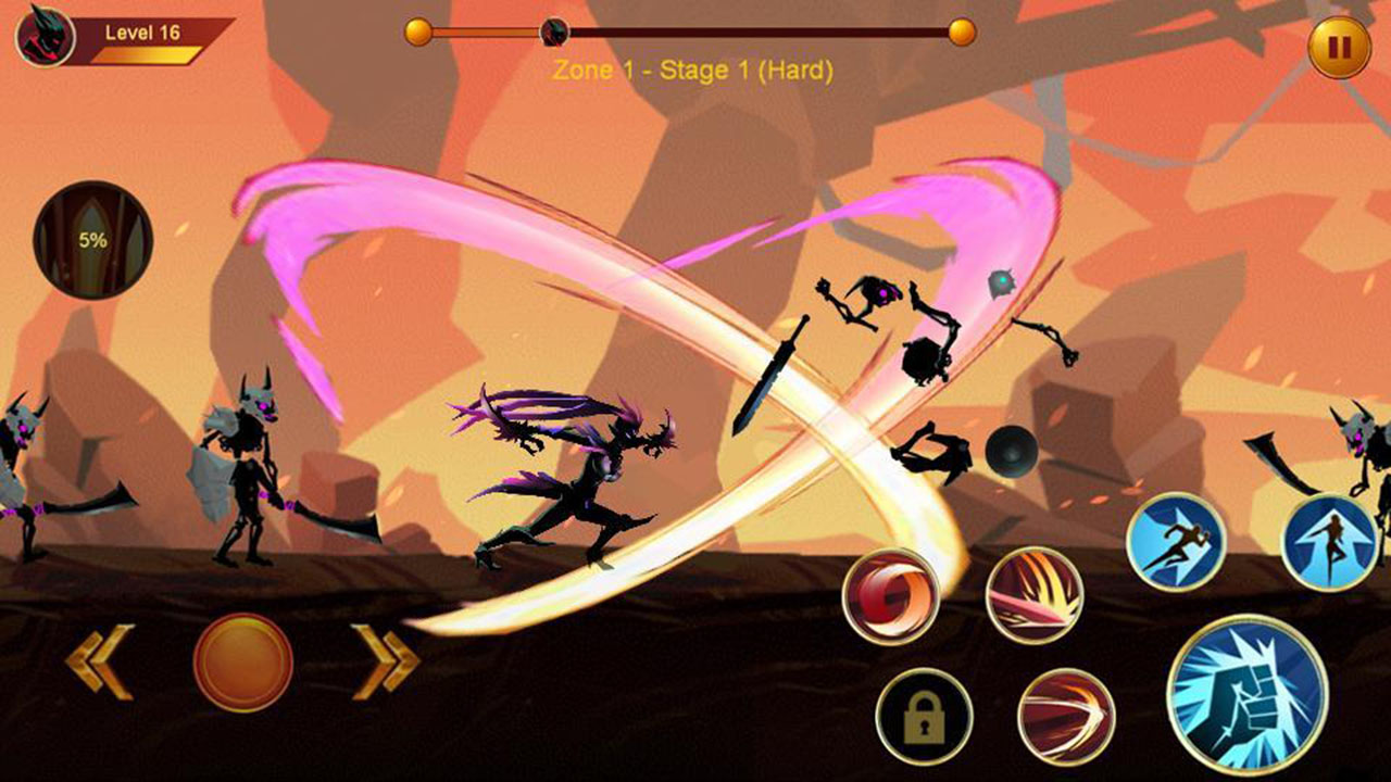 Shadow fighter 2 screen 3